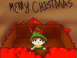 ..Delayed.. Snufkin  Gift by RandomMangaGal