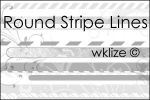 Rounded Stripe Lines by WKLIZE