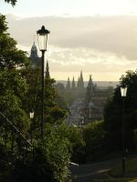 Princes St from Calton Hill by tartanink