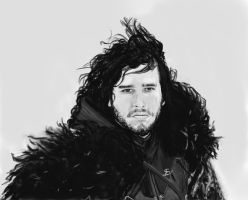 Jon Snow by TheSig86