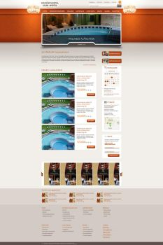 Web Design: Hotel Erdospuszta by VictoryDesign