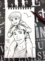 Inktober - Day 2 by algy
