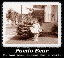 Pedobear of 1930 by requin
