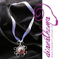 The red magic pendant by dianathema