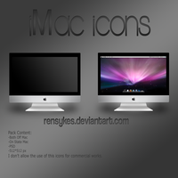 iMac Icon Pack by Rensykes