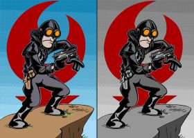 Lobster Johnson by Zorgia