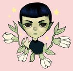Spock by tuliplou