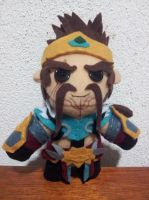 Draven, The Glorious Executioner Plush by dacc24