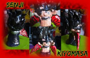 Senji Kiyomasa clay figurine by All-shall-fade