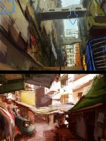 Paintover - streets of HK by balloonwatch