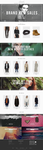 Responsive Clothing Store Website Design by xDamianART