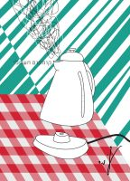 Electric kettle by pill-boy