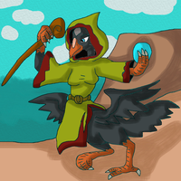 The Raven Wizard by Mojo1985