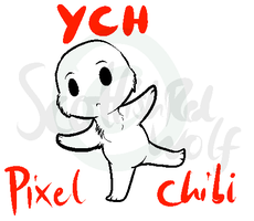 YCH Pixel Chibis: HOLD (Open more later) by ScottishRedWolf