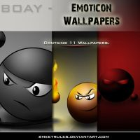 .: BOAY - Emote Wallpapers :. by smeetrules