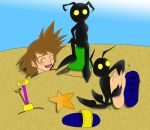 Heartless Beach Colored by wantwon