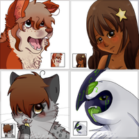 PC - Icon set by FluffehButt