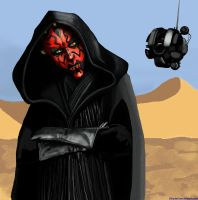 Star Wars: Darth Maul by Abydell