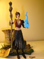 Morrigan the witch of the wild by pyramidhead22