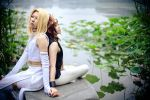 Saiyuki Gaiden_lotus lake by hybridre