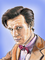 The 11th Doctor by Kimwest81