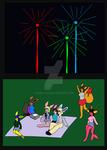 Enjoying 4th of July with friends by Bioblood