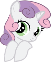 Pocket Pony Sweetie Belle by Creshosk