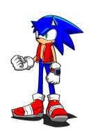 Sonic some years later by YeyeiAlba