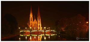Strasbourg Eglise St Paul by Satourne