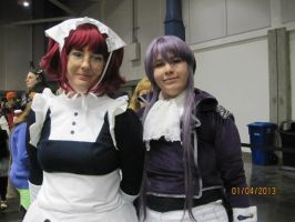 Gapuko and whatsherface from Black Butler by SaikouPysho