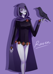 Raven by Fruit-Crayons