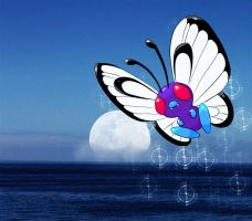 butterfree by magicalyuki