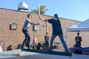 2014 Fluff Fest, Fluff Jousting 13 by Miss-Tbones