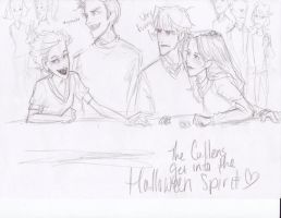 Halloween and the Cullens by burdge
