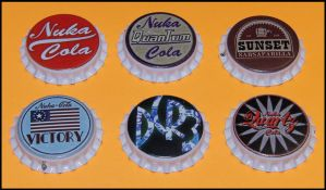 Real Fallout 3 and New Vegas bottle caps by DCRIII