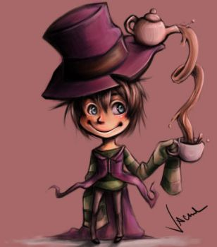 Mad Hatter Kid by owdof