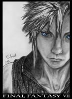 Cloud Strife FINAL FANTASY VII by Tildhanor
