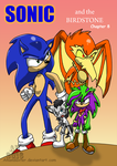 Sonic and the Birdstone cover 8 by Amandaxter