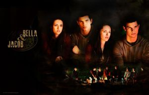 Eclipse: Bella and Jacob by hazelxxx