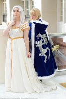 Irisviel and Saber: Erase My Hesitation by FoxGlovesCosplay
