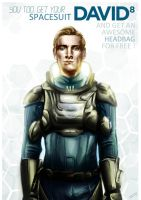 Spacesuit David 8 by Tahlsou
