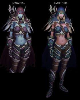 Sylvanas Windrunner - High Elf by Lost-In-Concept