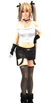 DOA Meshmod -Marie Rose Leather Jacket (DL CLOSED) by YumieDolly