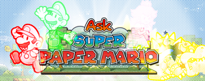 Ask Super Paper Mario! -introduction- by Chivi-chivik