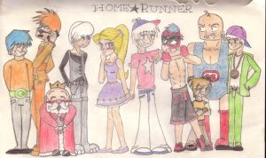 HomeStar and the Gang by Lilixilon
