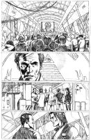 NWO 1 issue page 27 pencil by giuseppedeluca