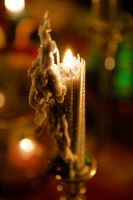 Silver Candle by AquarianPhotography