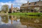 The Old Mill at Lower Slaughter by Daniel-Wales-Images