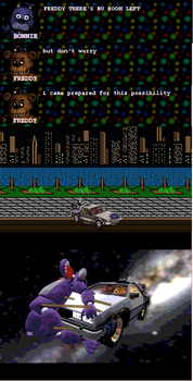Freddy's prepared for this possibility. by superwolf15