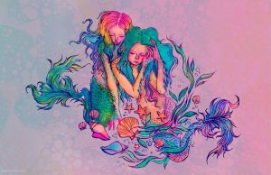 mermaids by flowwwer